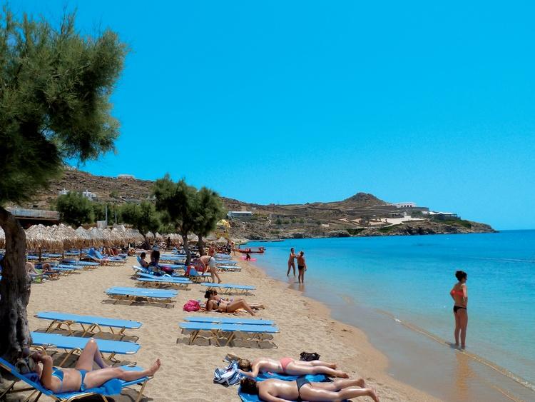 Mykonos Greece Paradise Beach Resort